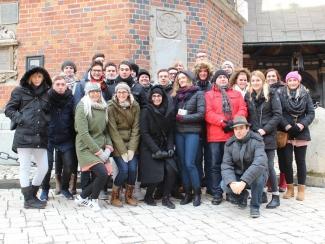 """Studienfahrt """"Gegen das Vergessen"""" 2017 – eine Reise in die Vergangenheit"""