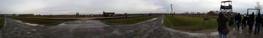 neue Rampe in Birkenau